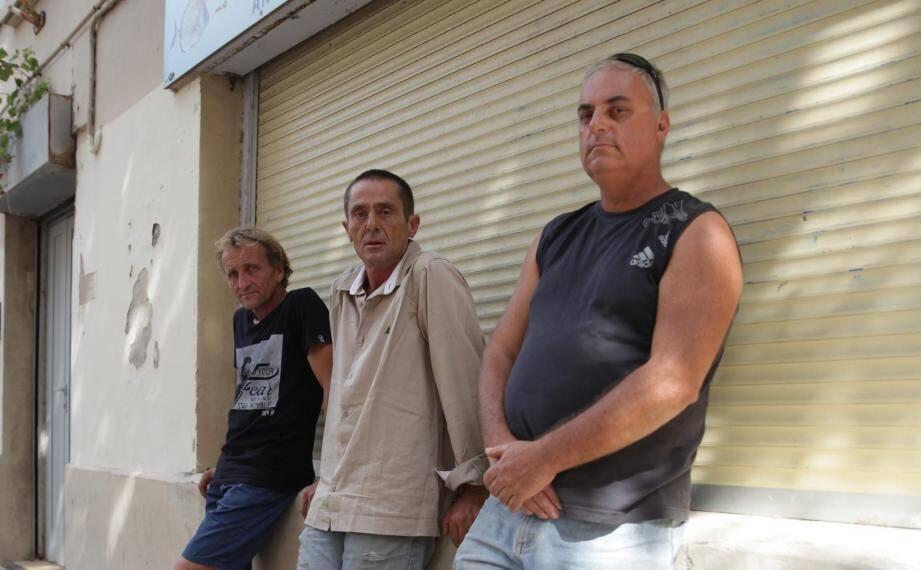 De gauche à droite : Denis Genovese, Jean-Baptiste Dumont et Franck Bernoin.