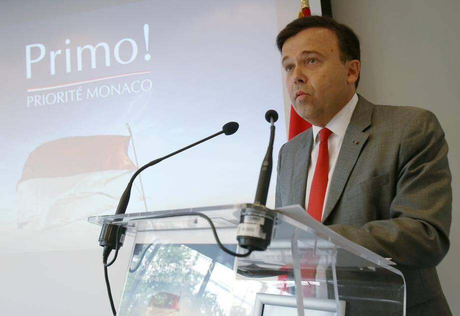 « Avec Priorité Monaco, une cinquantaine de référents et moi-même avons pour objectif de donner au Conseil national toute sa place. »