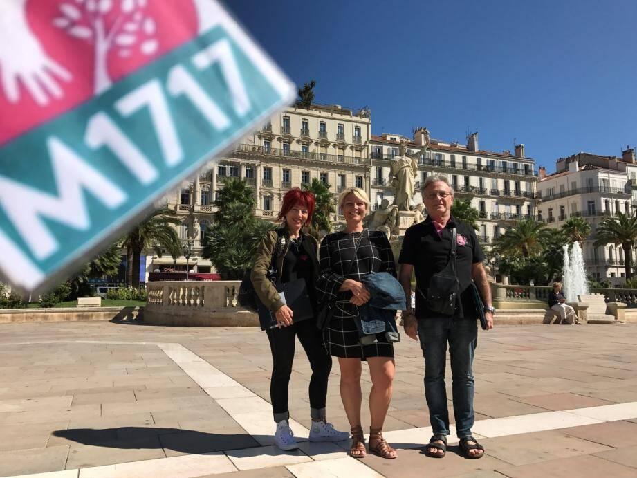 Sylviane Bazin, Audrey Bastelica et Jean-Jacques Panigot veulent asseoir la reconstruction de la gauche sur le programme de Benoît Hamon.