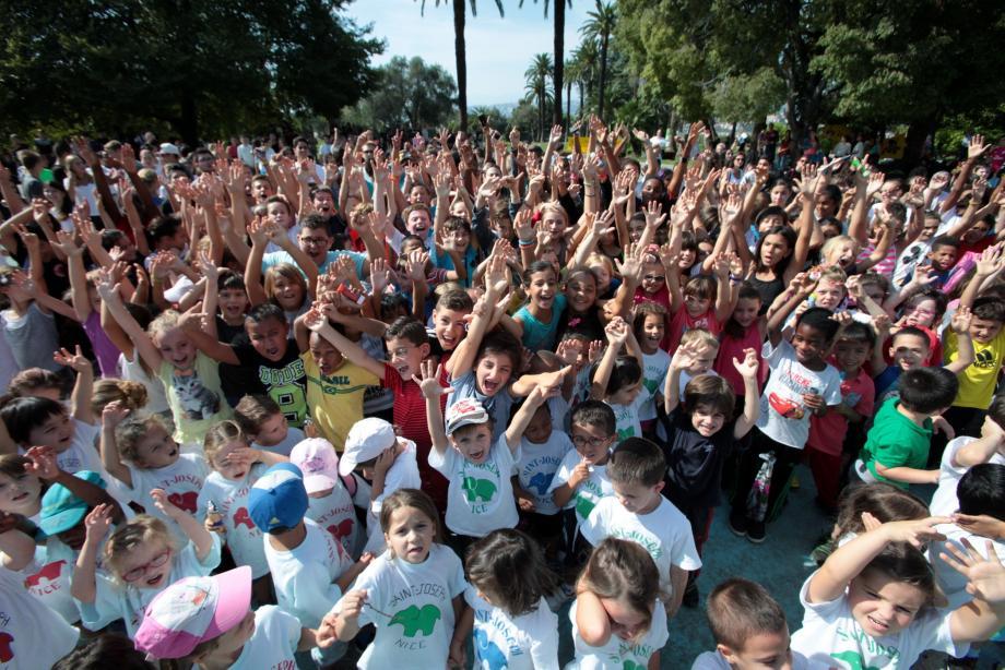 Les scolaires vont courir pour la lutte contre la mucoviscidose. (Photodoc V.-m.)