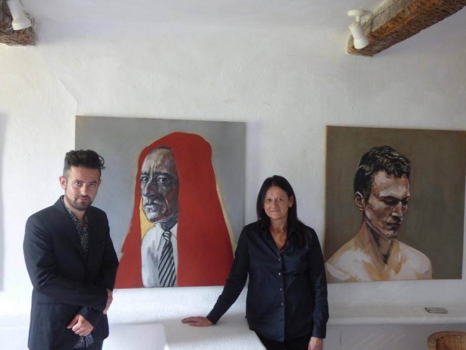 Cocteau, par Greg Ponzanelli, ici avec Michèle Beddington.