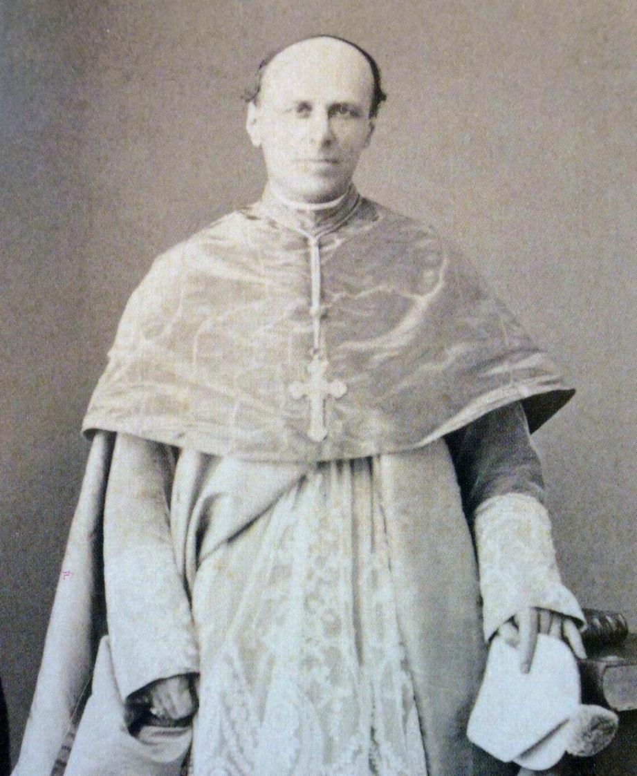 Mgr Charles Theuret, premier évêque de Monaco (1887).(DR)