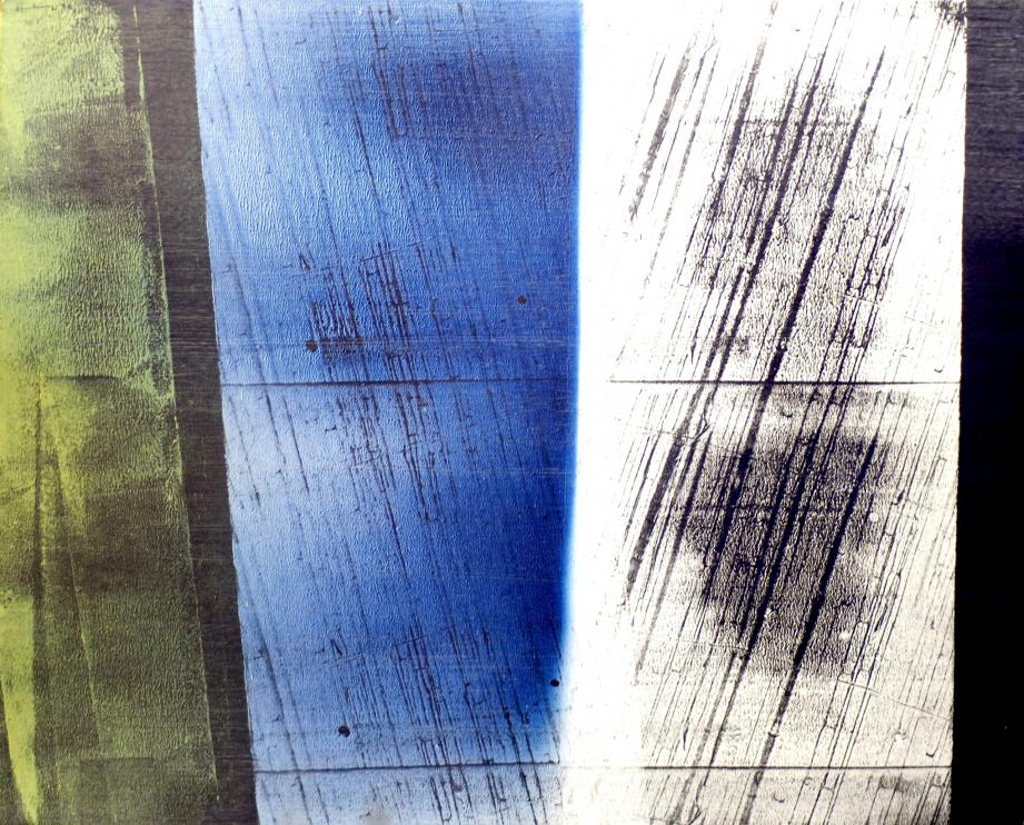 Hans Hartung (1904-1989) - Acrylique sur toile, sans titre - 1976 - dédicace «A Antonio et A Aïka Avec Antière Affection, hAns hArtung - A!» - 81 x 100 cm - Certificat du peintre juin, daté du 19 Juin 1984 à Antibes - Estimation : 25 000 - 35 000 €.