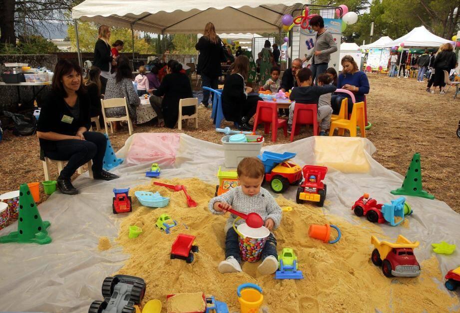 Les enfants ont découvert les animations et occupations qui s'offrent à eux pendant toute l'année à l'initiative de l'agglo.