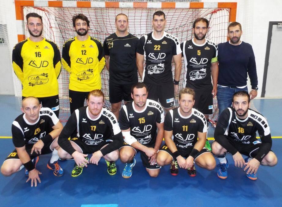L'équipe maximoise a remporté le derby face à Saint-Tropez.