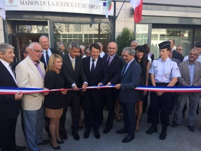 L'inauguration officielle, hier, de la MJD.