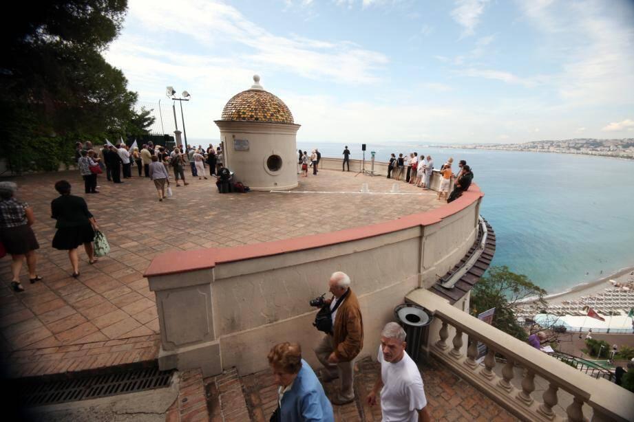La tour Bellanda est exceptionnellement ouverte au public ce week-end.