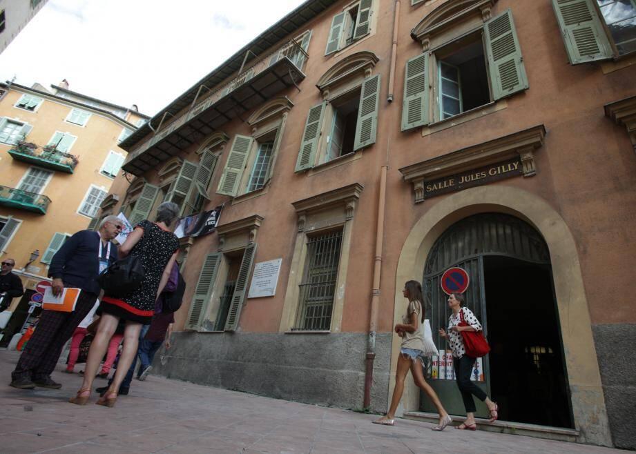 L'ancien Sénat de Nice, situé à deux pas du cours Saleya.