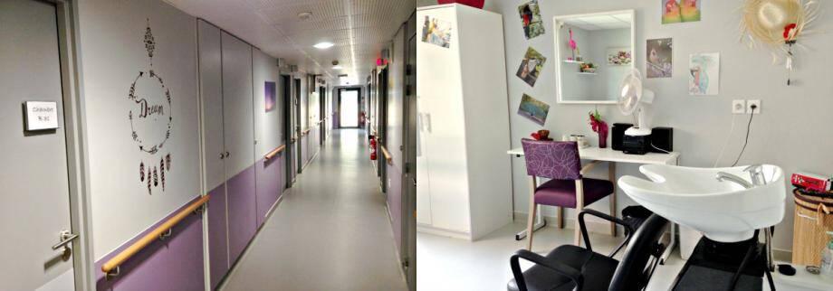 L'établissement antibois dispose de quarante-quatre places, dont quatre d'hébergement temporaire.
