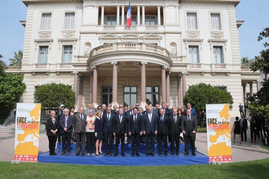 La Déclaration de Nice a été signé par une soixantaine de maires européens et du bassin méditerranéen.