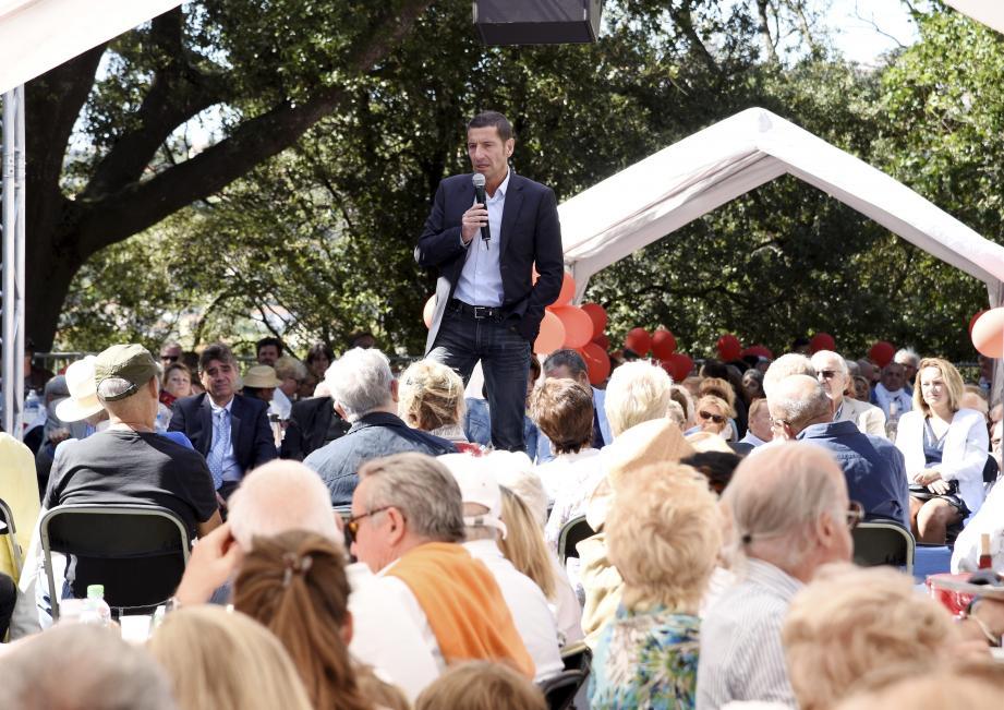 David Lisnard, le maire de Cannes.