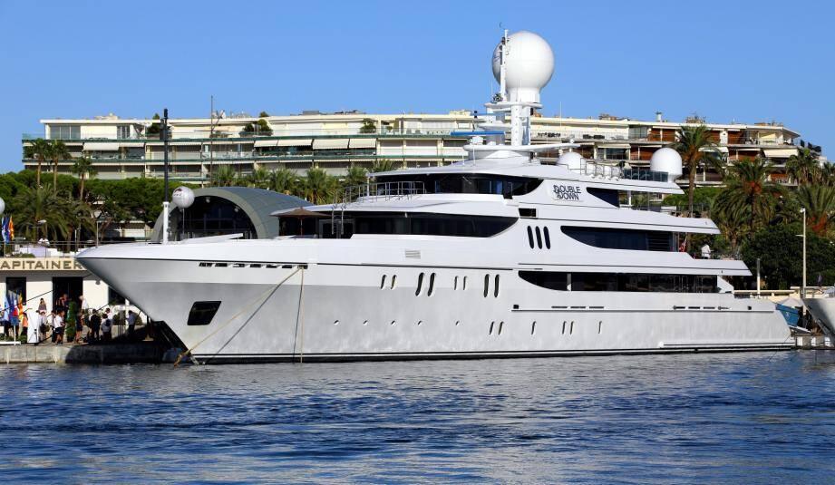 Le Double Down, la vedette du Yachting Festival de Cannes.