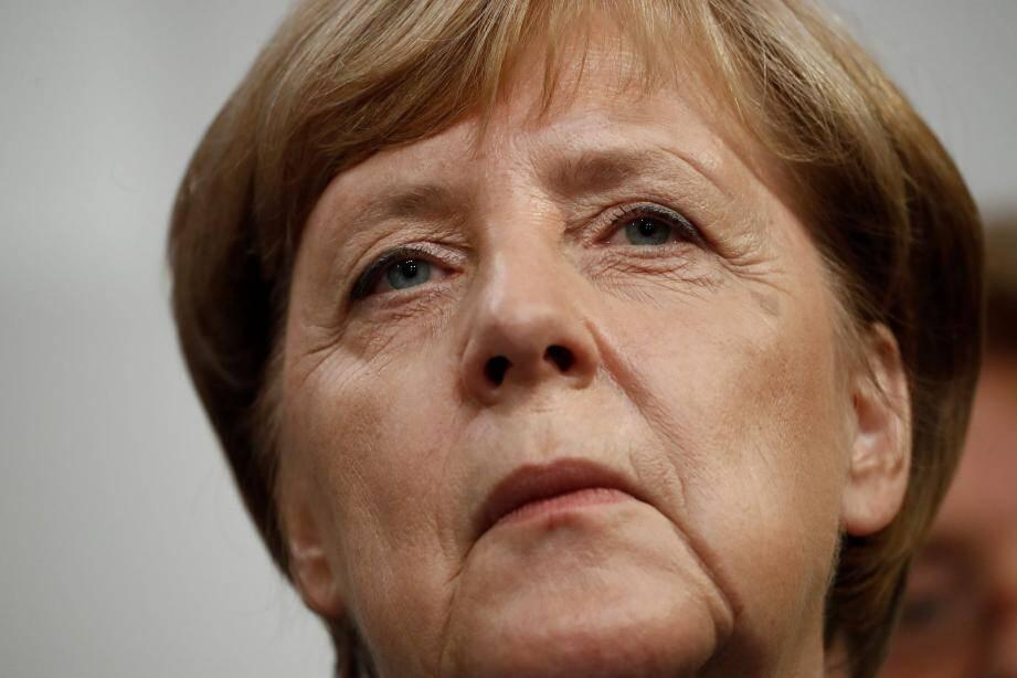Angela Merkel, le 24 septembre 2017.
