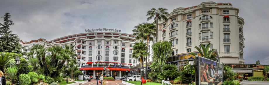 L'hôtel le Majestic à Cannes.