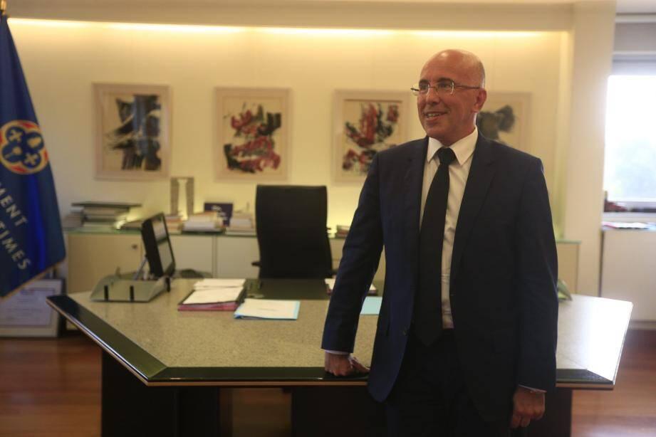 Eric Ciotti, 105 mois à la tête du Département.