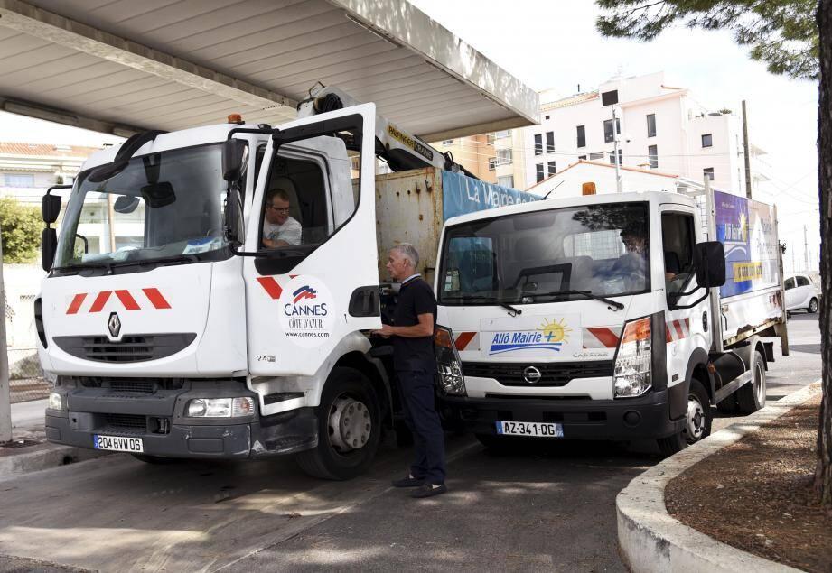 Les deux camions rejoindront Saint-Barthélémy.
