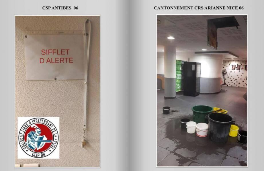 Les photos prises dans les commissariats du 06.