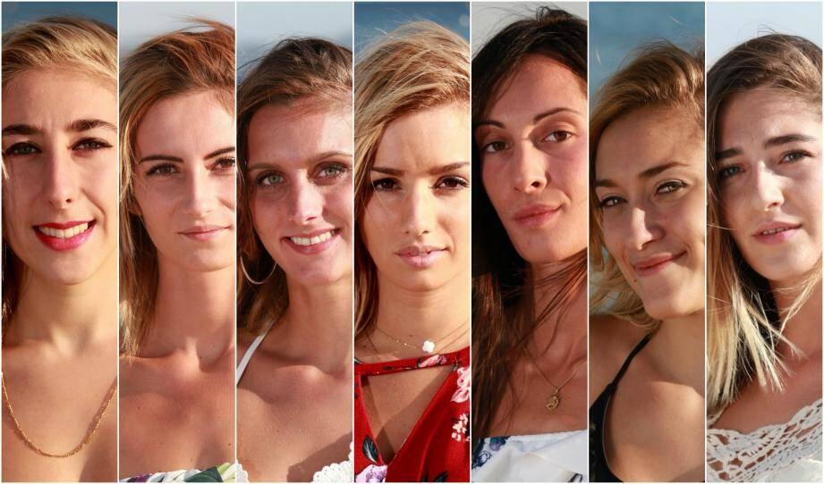 Les candidates au titre de Miss Hyères La Londe.