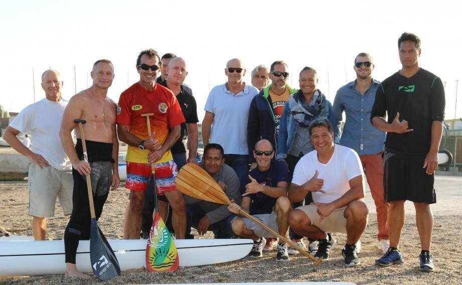 Plus de 100 pirogues monocoques seront ua départ sur les plages du Mourillon