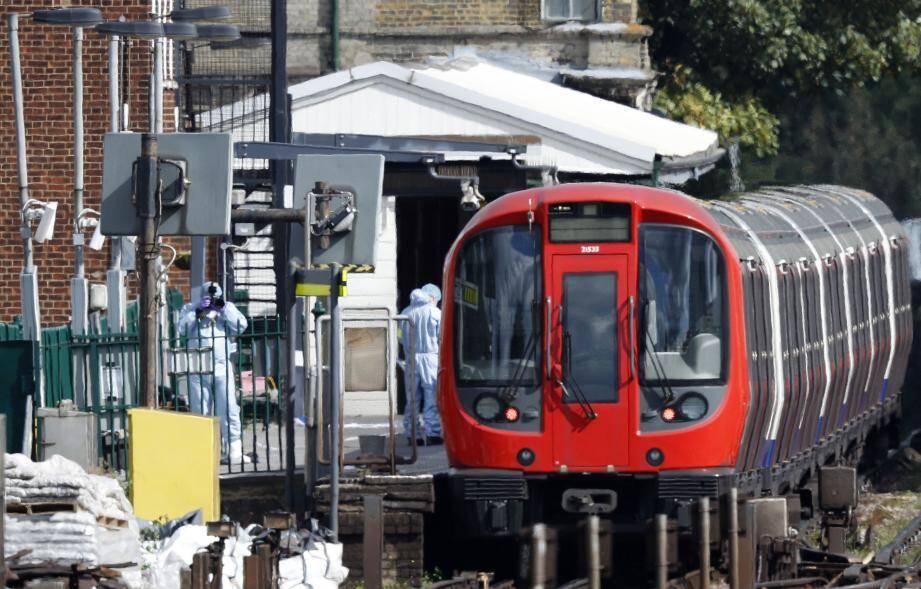Une explosion a eu lieu ce vendredi matin dans un métro à Londres
