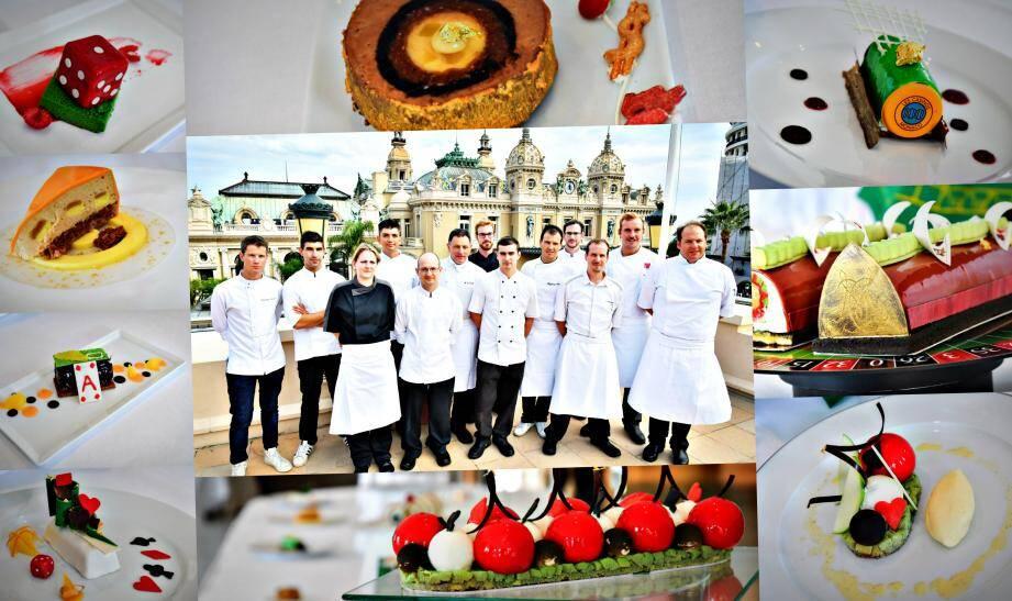 Huit équipes de pâtissiers des établissements de la société ont participé à ce concours.