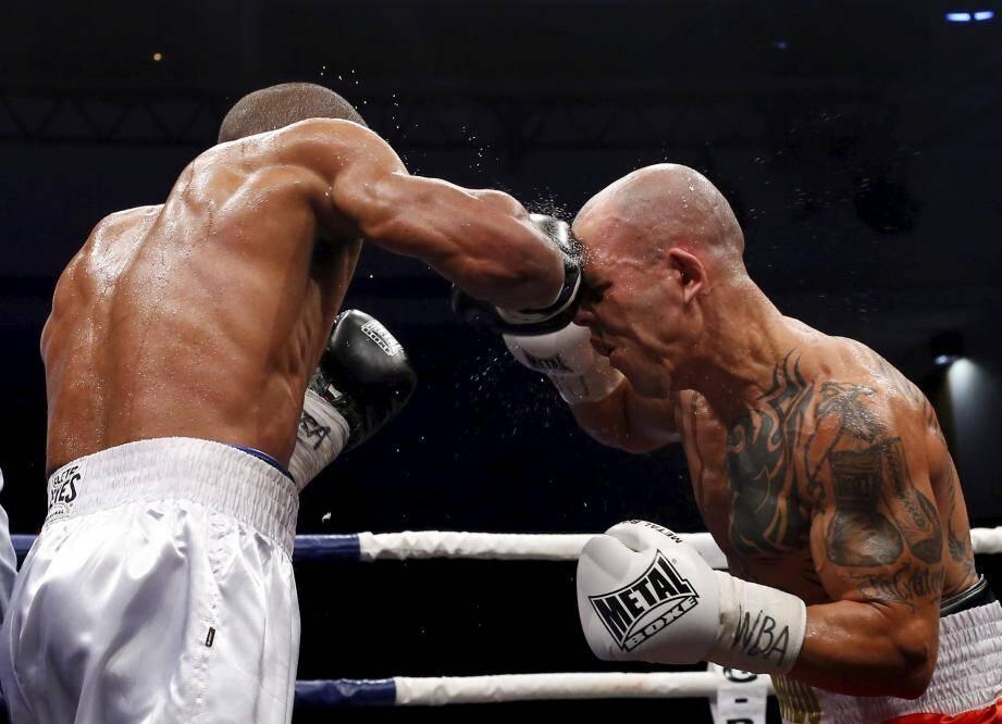 9ème Monaco Boxing Challenge, à la salle Léo Ferré à Monaco, vendredi 22 septembre 2017.