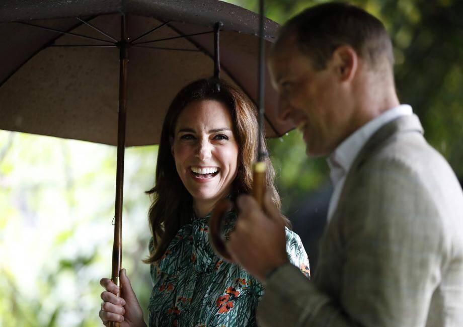 Après George et Charlotte, le couple attend son troisième enfant.