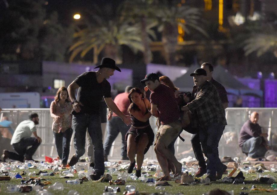 La fusillade a eu lieu pendant un concert de musique country.