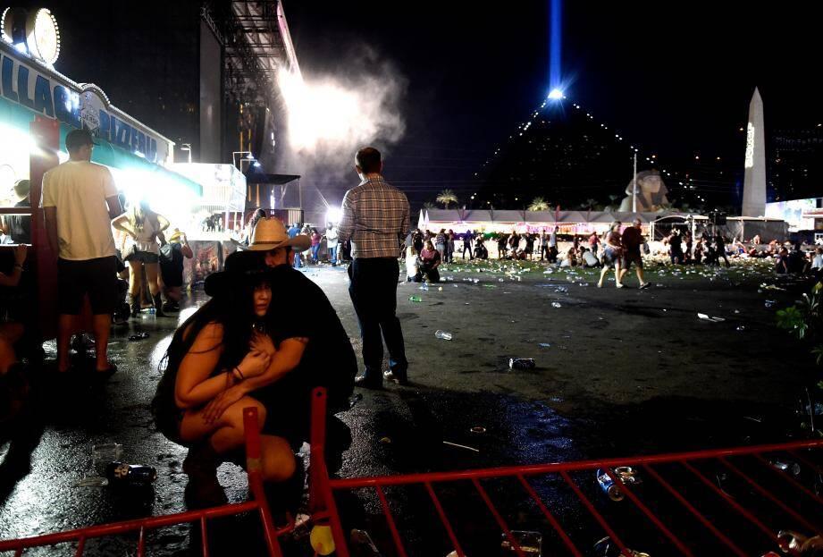 La fusillade de Las Vegas a entraîné la mort de 59 personnes.