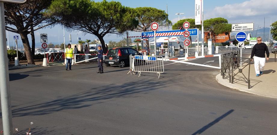 Le parking du port de Saint-Tropez sera fermé durant le week-end