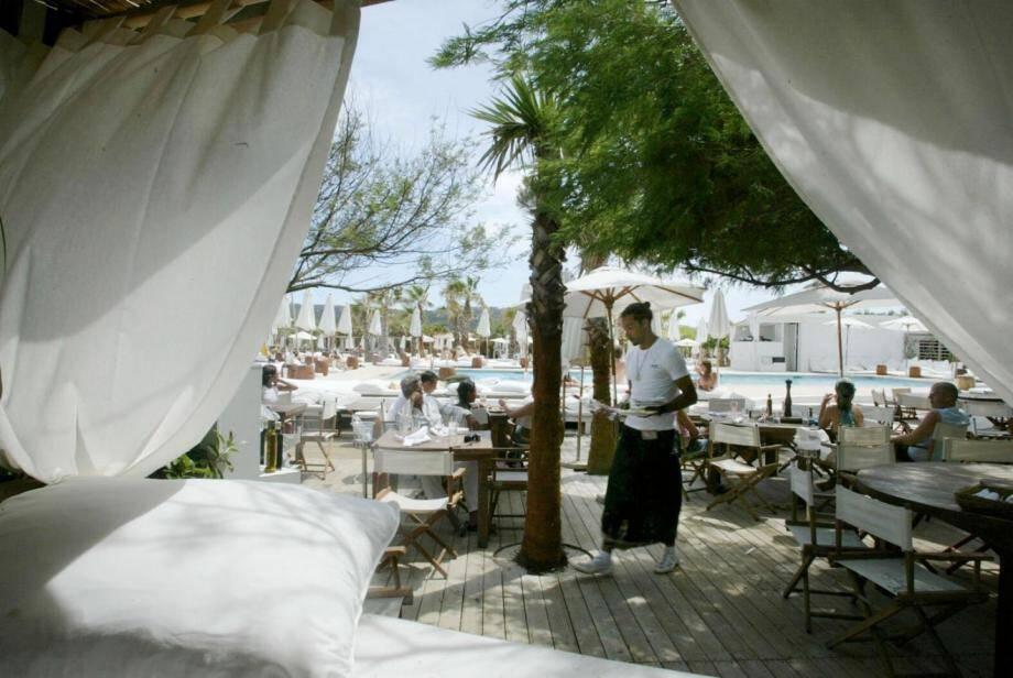 A Ramatuelle, sur la plage de Pampelonne. La procédure fait suite à un contrôle pendant l'été 2012.