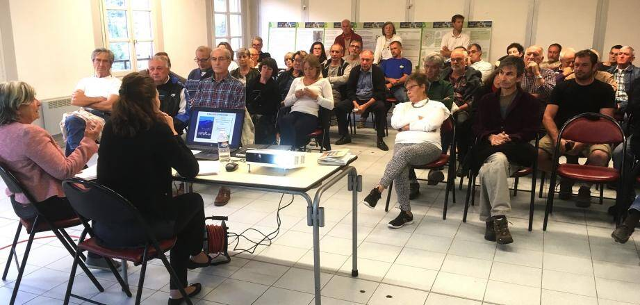 La population a largement répondu à l'invitation de la municipalité.(DR)