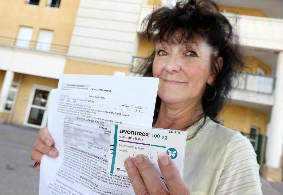 Françoise Pleven est l'une des 166 personnes qui ont déposé plainte. Des centaines d'autres sont en train d'en faire autant.