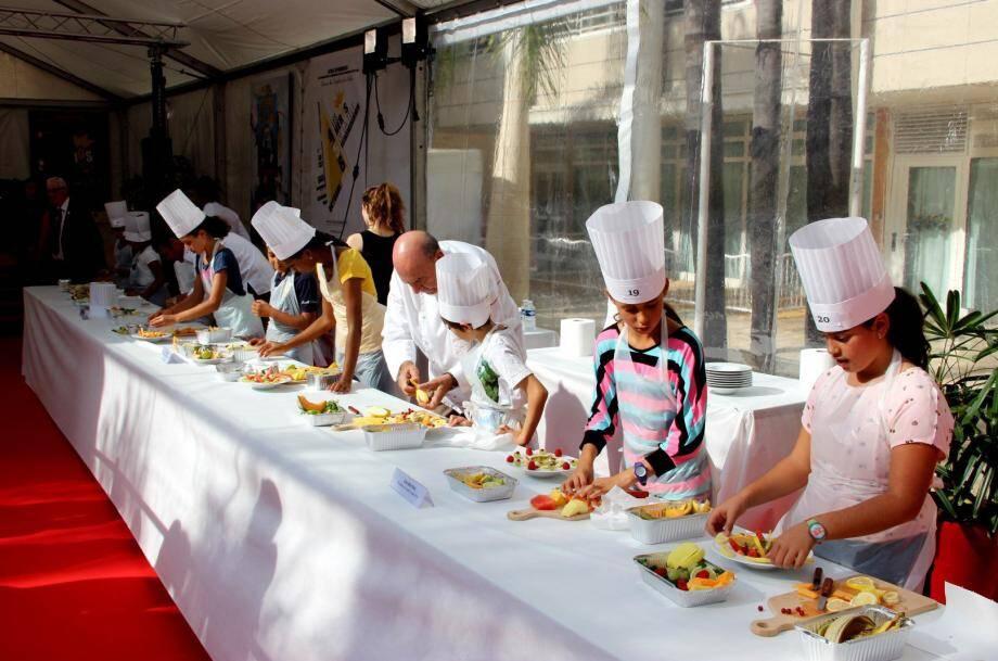Au programme, concours culinaire avec de grands chefs et ateliers de l'ESRA sur les métiers de la TV.