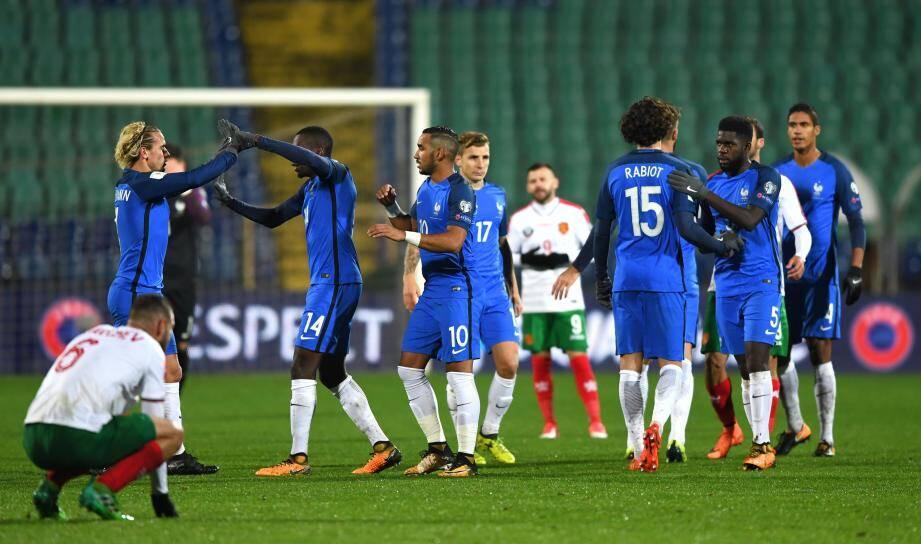 Un match très moyen, un seul but mais une victoire essentielle pour la France en Bulgarie, hier.