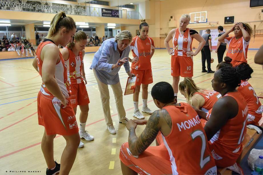 Olga Tarasenko insiste sur les progrès effectués par son équipe qui sera complètement prête « d'ici un mois ».