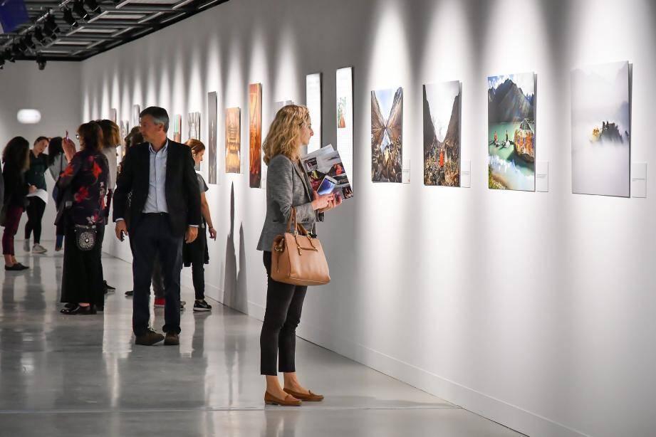 Matthieu Ricard, hier en Principauté, pour présenter son travail photographique.