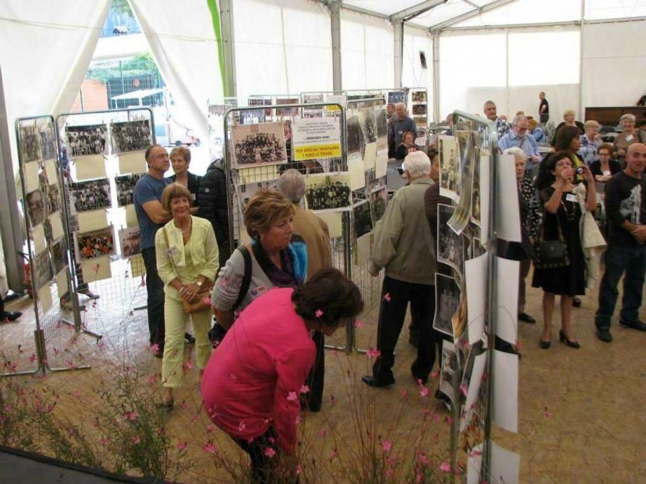 Beaucoup d'intéressés, l'année dernière, pour replonger dans ces souvenirs grâce à l'exposition photos.