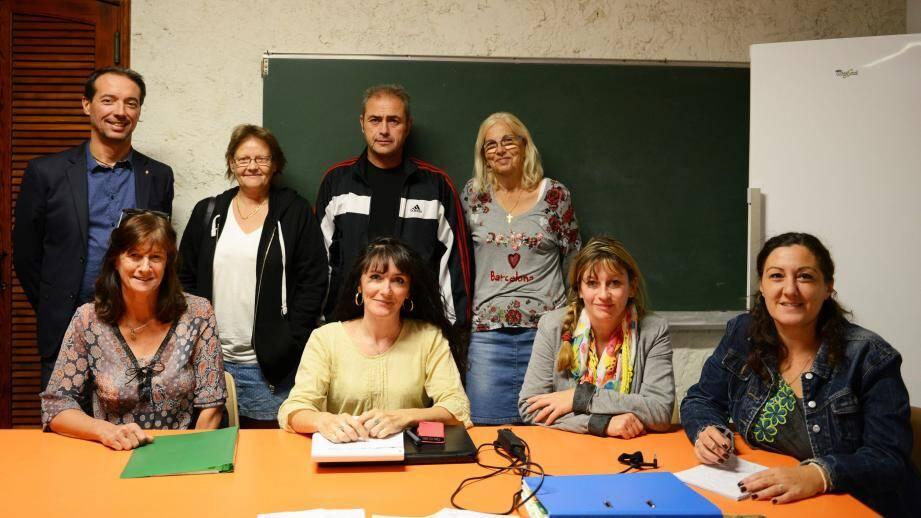 Les Fées Papillons ont dressé une synthèse de la réunion avec Christophe Bottai, adjoint aux sports et aux associations.