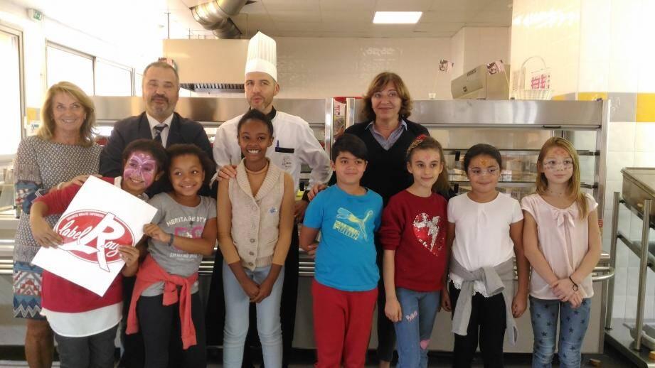 Hier, les écoliers de Bischoffsheim ont testé le menu « Nissa Label ».