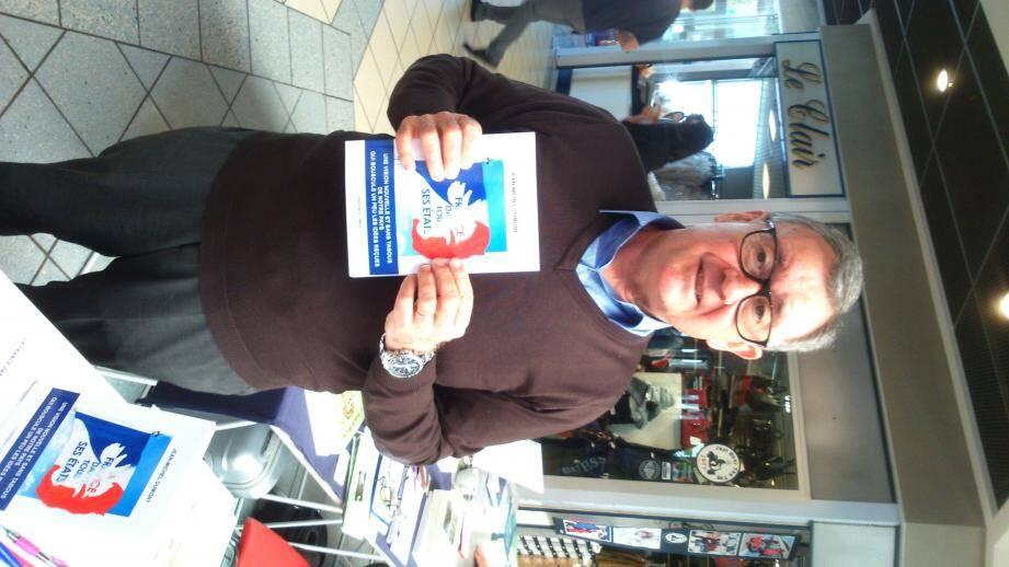 Jean Michel Dumont présente son troisième livre ce samedi à Brignoles.