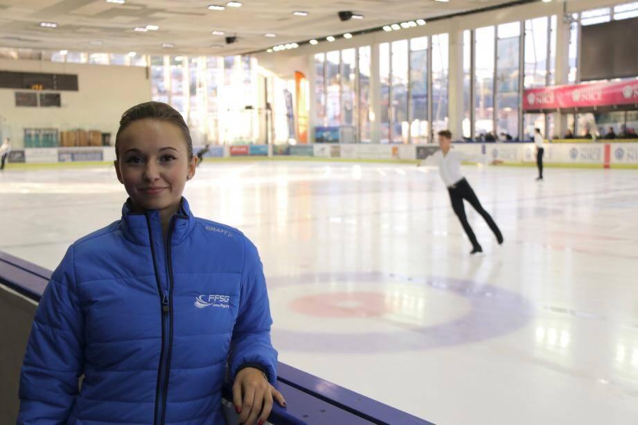 La lycéenne, pensionnaire de Don Bosco, vise déjà le podium des championnats de France dans deux mois.