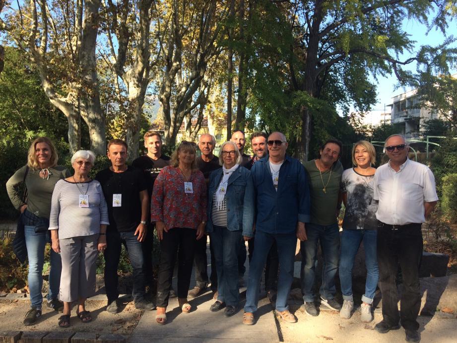 Les membres du Comité des fêtes de Toulon se sont activés pendant des mois pour assurer la réussite de cet événement.