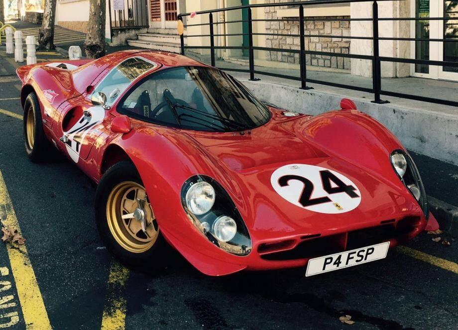 La Ferrari P4, reine de Daytona.