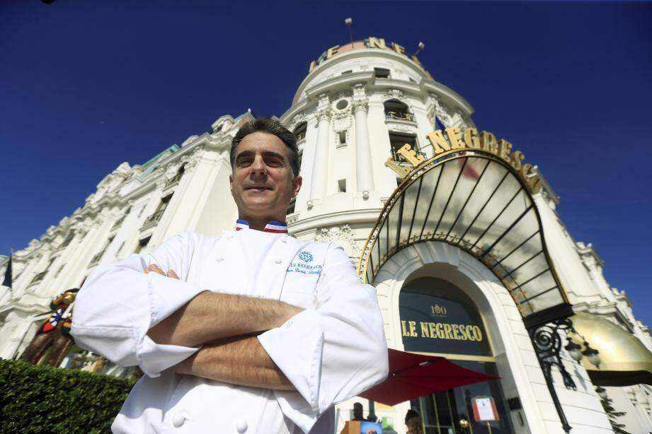 Une décennie après son arrivée, le chef des cuisines du Negresco Jean-Denis Rieubland quitte la célèbre palace de la promenade des Anglais.