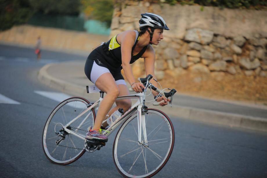 Le triathlon du Dragon n'a pas manqué de faire des étincelles à Draguignan.