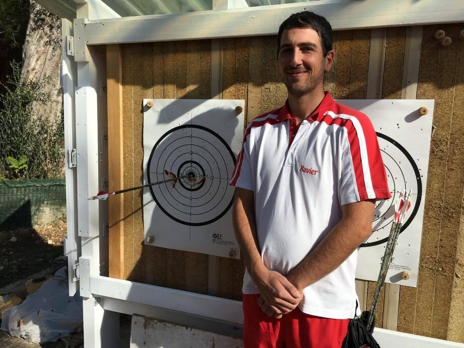 Xavier Kemp a participé cette année aux Jeux des petits États d'Europe à San-Marin.(DR)