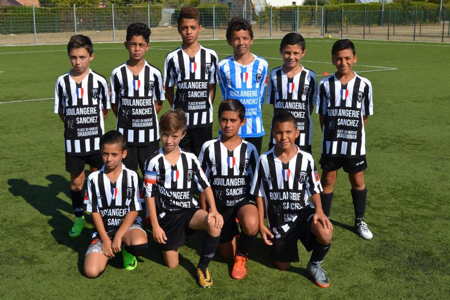 Le groupe U13 excellence du Sporting.