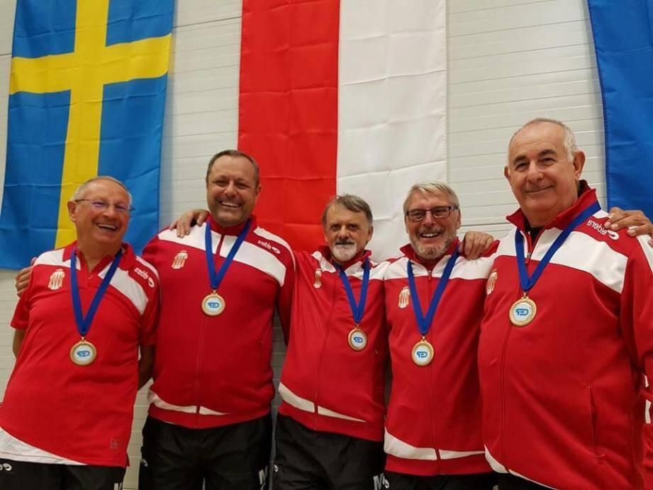 Malgré un beau parcours, la délégation monégasque s'est inclinée en demi-finale face à l'équipe des Pays-Bas, double championne d'Europe en titre.(DR)