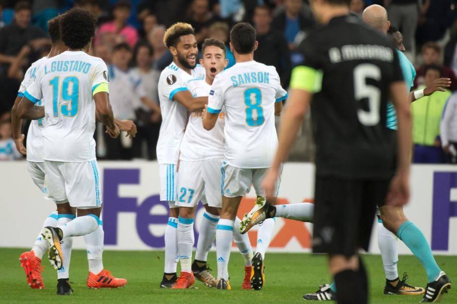 Maxime Lopez, en offrant la victoire à son équipe, a rappelé qu'il fallait encore compter sur lui cette saison.